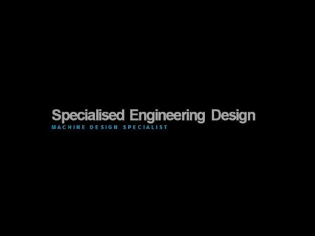 Spec Eng Design